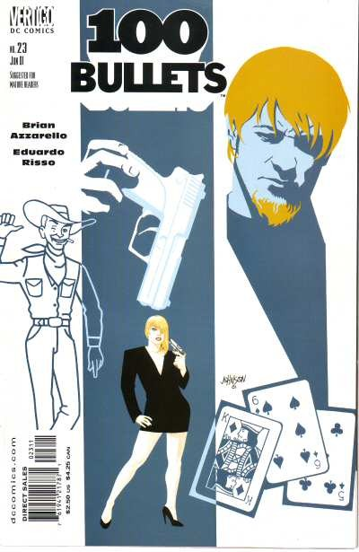 Couverture de 100 Bullets (1999) -23- Red prince blues (1)