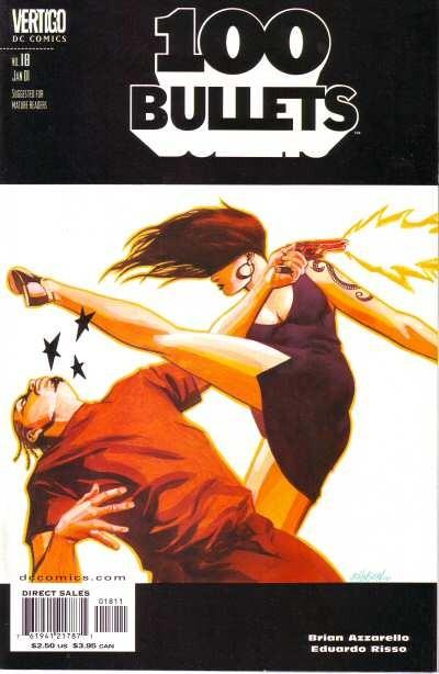 Couverture de 100 Bullets (1999) -18- Hang up on the hang low (conclusion)