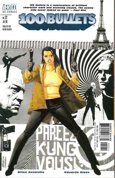 Couverture de 100 Bullets (1999) -12- Parlez kung vous (1)