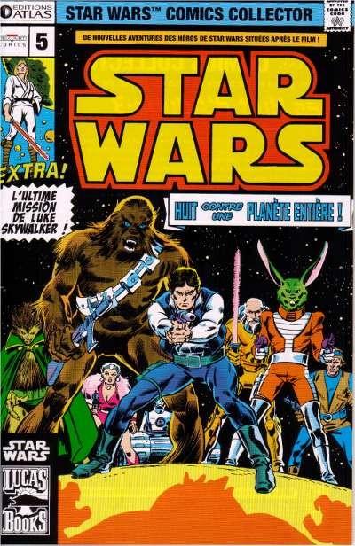 Couverture de Star Wars (Comics Collector) -5- Numéro 5