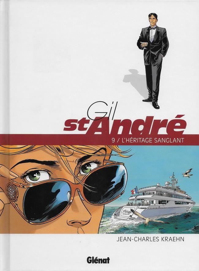 Couverture de Gil St André -9- L'héritage sanglant