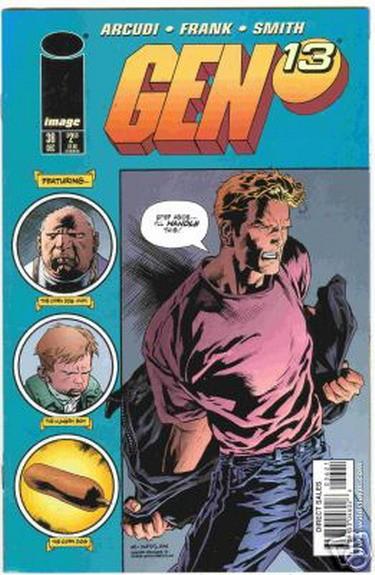 Couverture de Gen13 (1995) -36- That was then