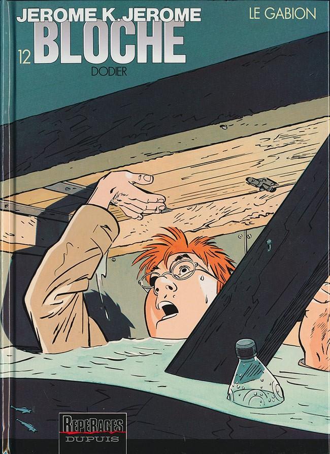 Couverture de Jérôme K. Jérôme Bloche -12- Le gabion