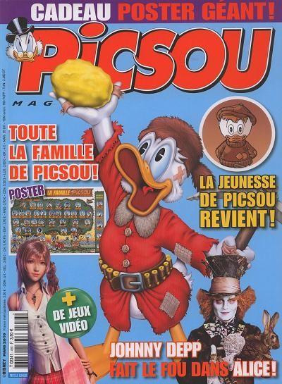 Couverture de Picsou Magazine -458- Picsou Magazine N°458
