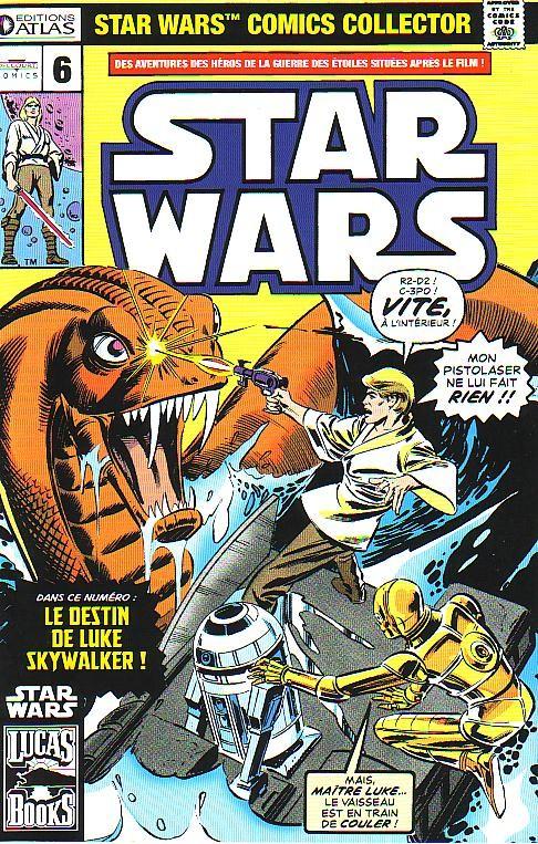 Couverture de Star Wars (Comics Collector) -6- Numéro 6
