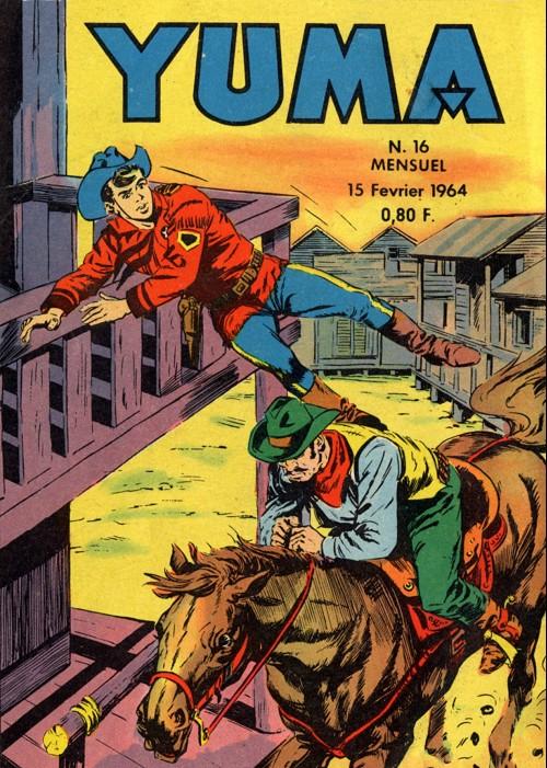 Couverture de Yuma (1re série) -16- Le siège du Ranch Morris