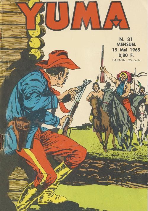 Couverture de Yuma (1re série) -31- Le retour d'Annie Pistolet