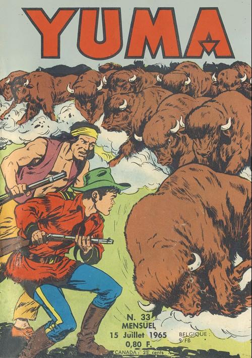 Couverture de Yuma (1re série) -33- La charge des bisons