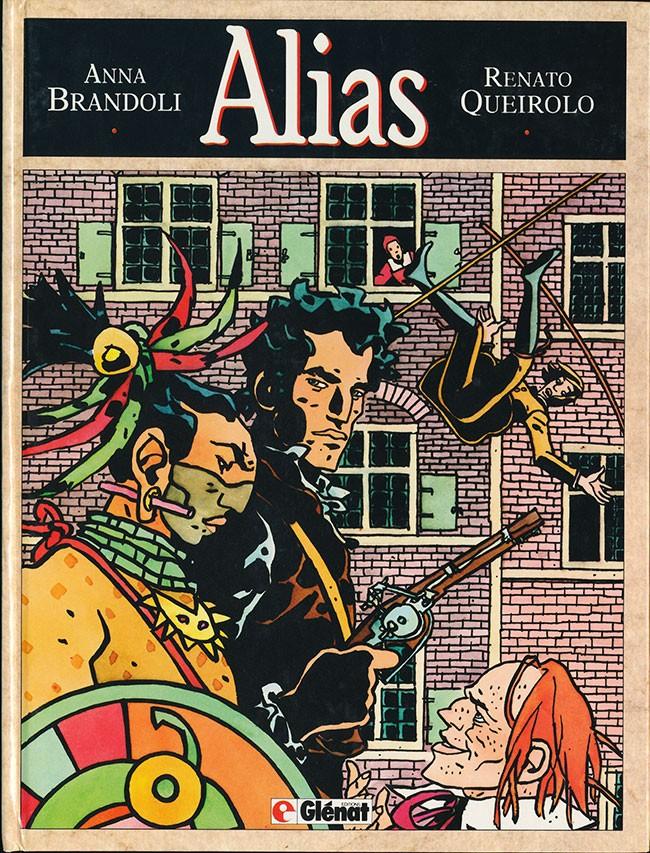 Couverture de Alias (Queirolo/Brandoli) - Alias