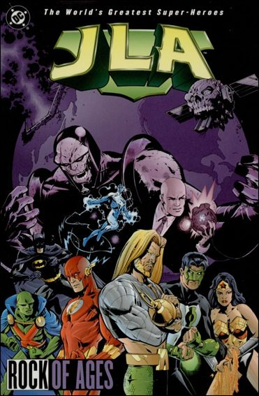 Couverture de JLA (1997) -INT03- Rock of ages