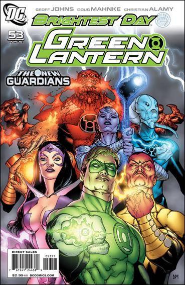Couverture de Green Lantern (2005) -53- The new guardians part 1