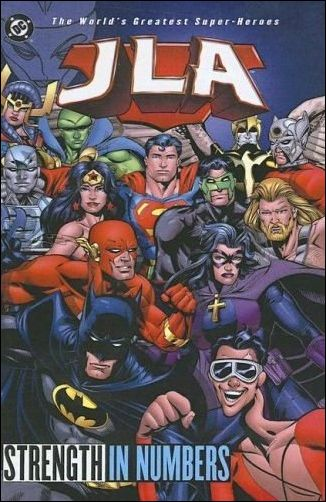 Couverture de JLA (1997) -INT04- Strengh in numbers