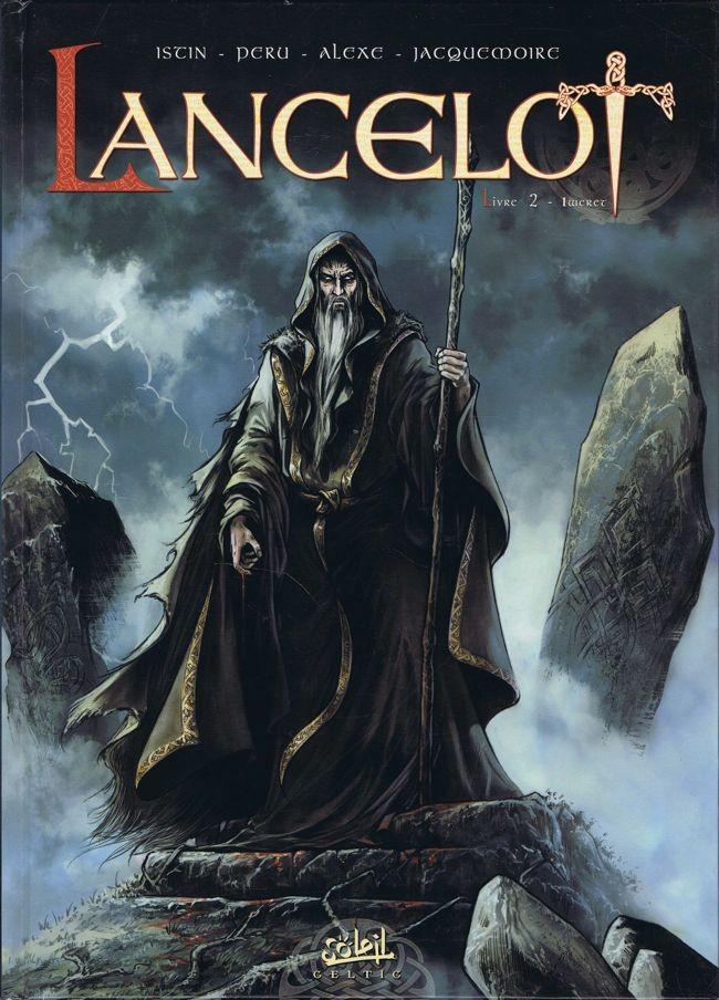 Couverture de Lancelot (Soleil) -2- Iweret