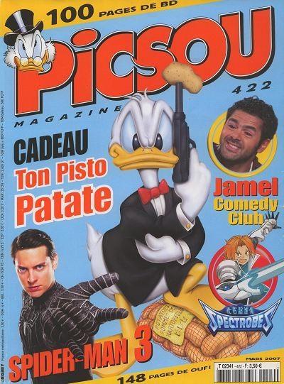Couverture de Picsou Magazine -422- Picsou Magazine N°422
