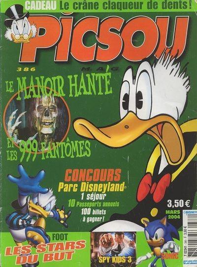 Couverture de Picsou Magazine -386- Picsou Magazine N°386