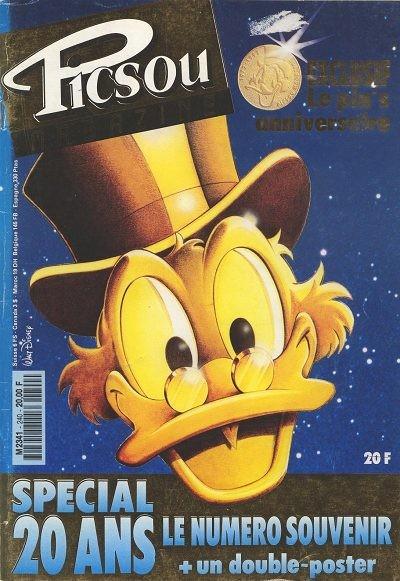 Couverture de Picsou Magazine -240- Picsou Magazine N°240