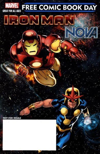 Couverture de Free Comic Book Day 2010 - Iron Man - Nova