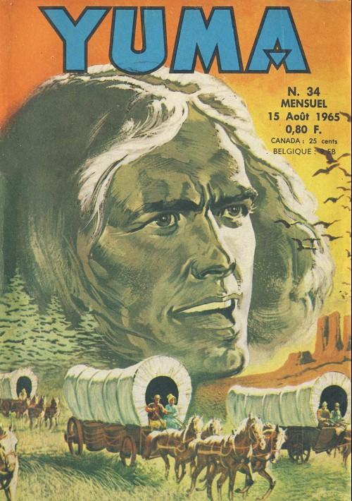 Couverture de Yuma (1re série) -34- Un étrange déserteur