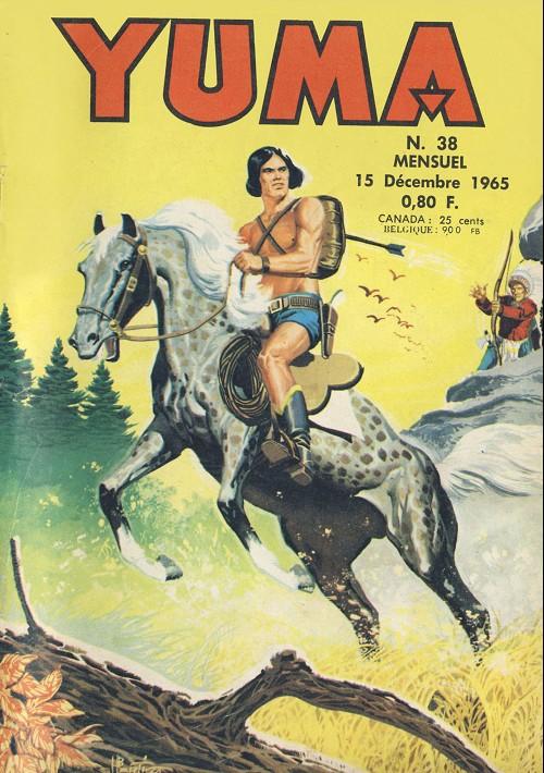 Couverture de Yuma (1re série) -38- Le récit d'Assuncion