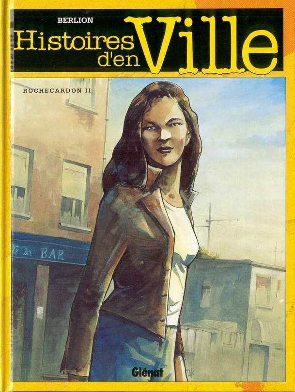 Couverture de Histoires d'en Ville -2- Rochecardon II - Karima