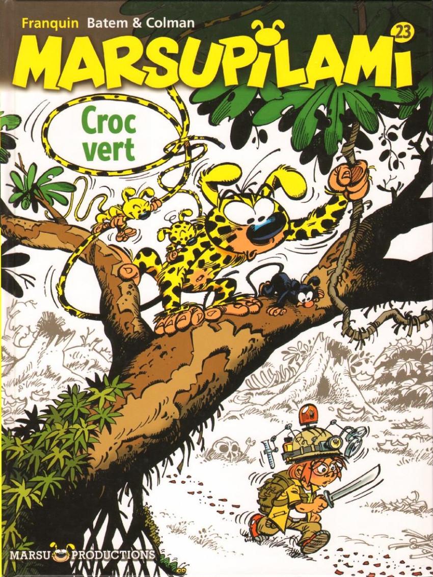 Couverture de Marsupilami -23- Croc vert