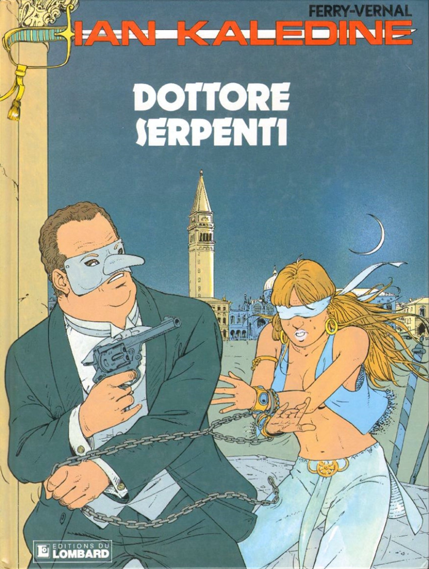 Couverture de Ian Kalédine -10- Dottore Serpenti