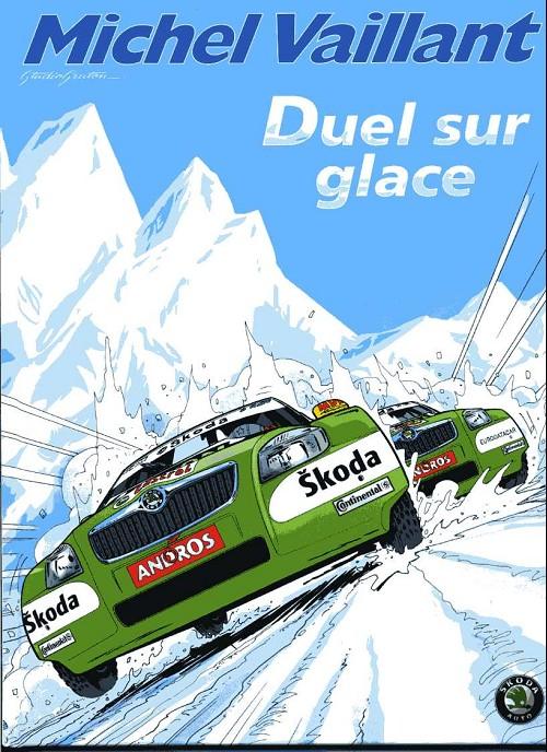 Couverture de Michel Vaillant -43Pub- Duel sur glace
