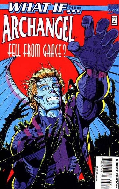 Couverture de What If? vol.2 (1989) -65- What if... archangel fell from grace?