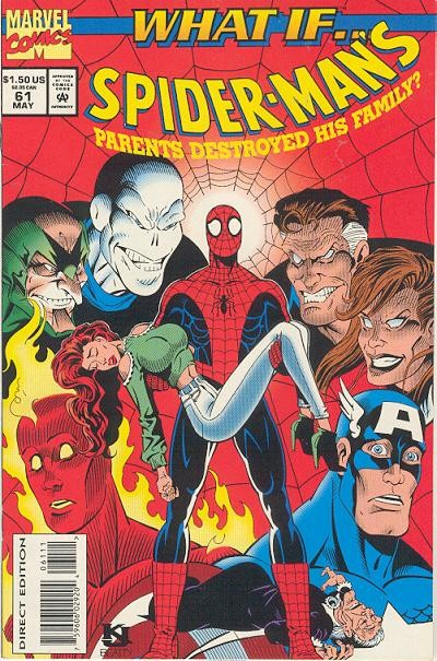Couverture de What If? vol.2 (1989) -61- What if... spider-man's parents destroyed his family?
