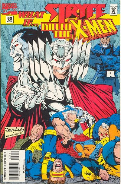 Couverture de What If? vol.2 (1989) -69- What if... stryfe killed the x-men?