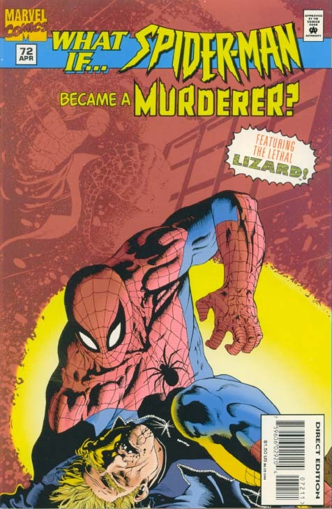 Couverture de What If? vol.2 (1989) -72- What if... spider-man became a murderer?