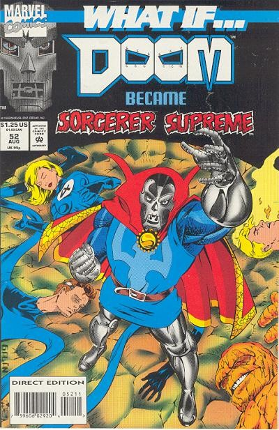 Couverture de What If? vol.2 (1989) -52- What if... doom became sorcerer supreme?