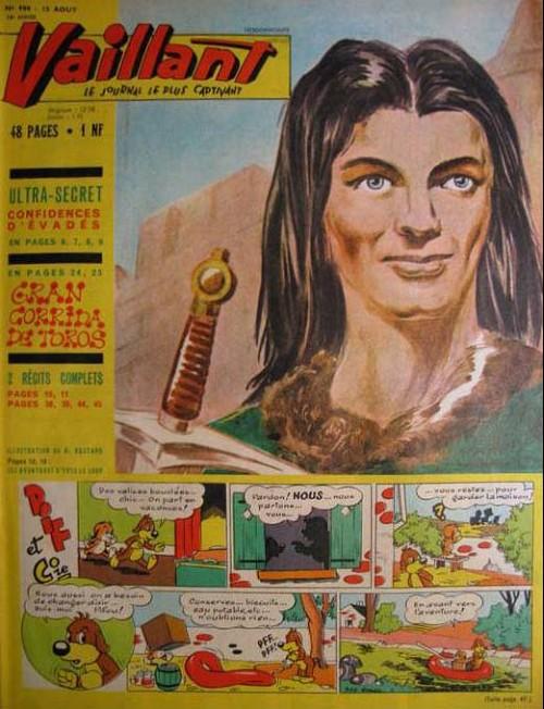 Couverture de Vaillant (le journal le plus captivant) -900- Vaillant
