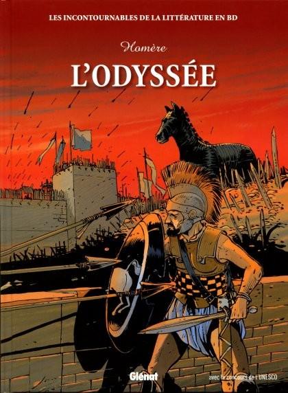 Couverture de Les incontournables de la littérature en BD -10- L'Odyssée