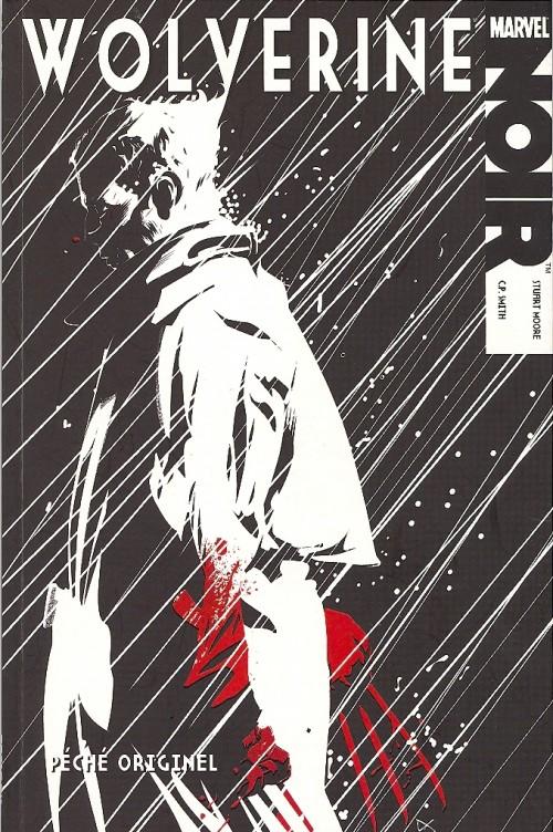 Couverture de Wolverine Noir - Péché originel