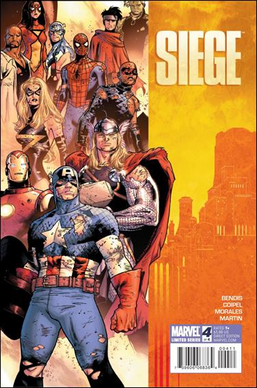 Couverture de Siege (2010) -4- Siege of asgard - phase four