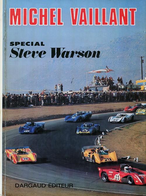 Couverture de Michel Vaillant -sp02- Spécial Steve Warson