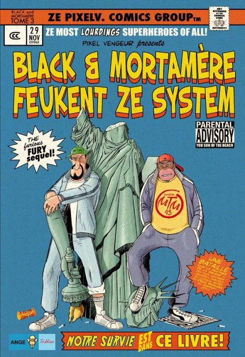 Couverture de Black & Mortamère -3- Black & Mortamère feukent ze system