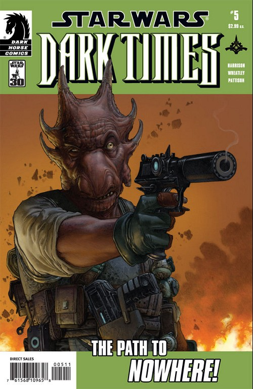 Couverture de Star Wars: Dark Times (2006) -5- The path to nowhere #5