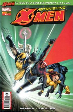 Couverture de Astonishing X-Men (en espagnol) -1- El don