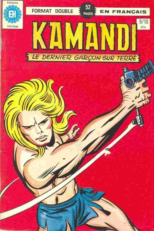Couverture de Kamandi (Éditions Héritage) -910- Le bandit manchot