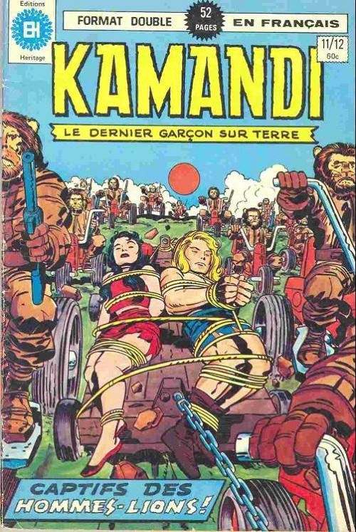 Kamandi (Éditions Héritage) - L'intégrale