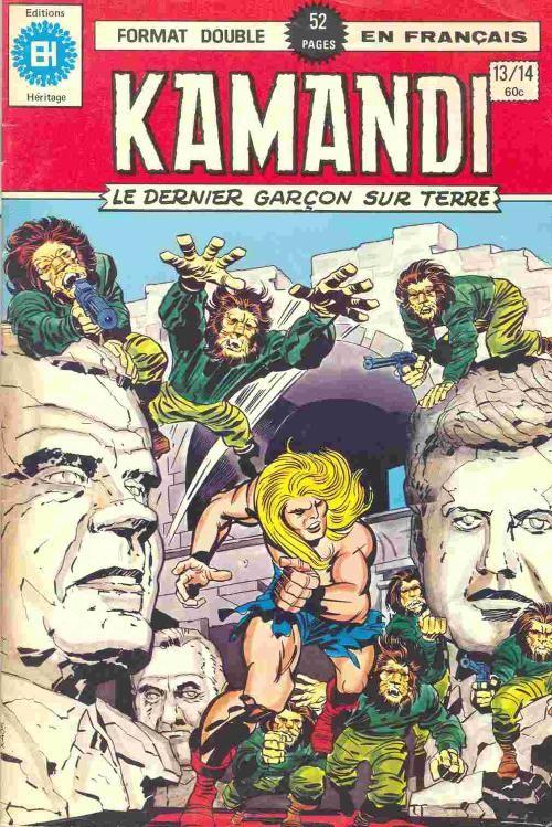 Couverture de Kamandi (Éditions Héritage) -1314- Tome 13