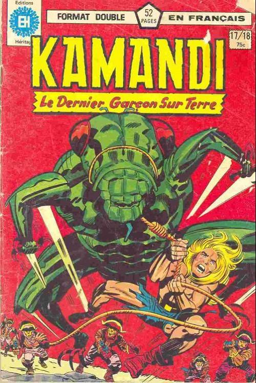 Couverture de Kamandi (Éditions Héritage) -1718- Tome 17
