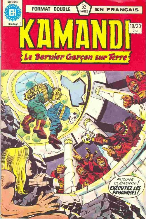Couverture de Kamandi (Éditions Héritage) -1920- Tome 19