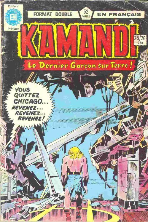 Couverture de Kamandi (Éditions Héritage) -2526- Tome 25