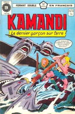 Couverture de Kamandi (Éditions Héritage) -2930- Tome 29