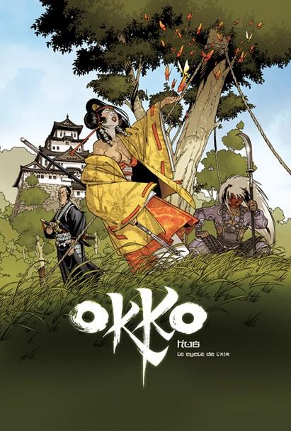 Couverture de Okko -TL3- Le cycle de l'air - I & II