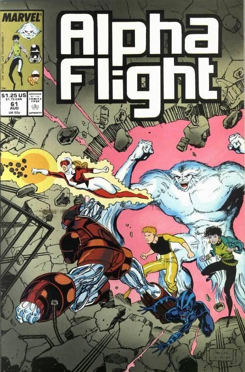 Couverture de Alpha Flight (Marvel comics - 1983) -61- ...inquisition!