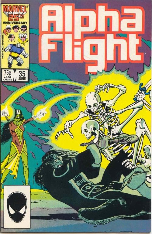 Couverture de Alpha Flight (1983) -35- The child is father to the man